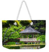 Japanese Gazebo Weekender Tote Bag
