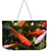 Japanese Koi Fish Weekender Tote Bag