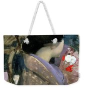 Japanese Lady With A Fan Weekender Tote Bag