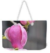 Japanese Magnolia Weekender Tote Bag by Sonali Gangane