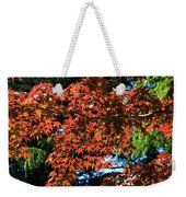 Japanese Maple Canopy Weekender Tote Bag