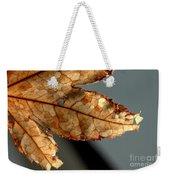 Japanese Maple Leaf Brown - 2 Weekender Tote Bag
