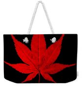 Japanese Maple Leaf Weekender Tote Bag