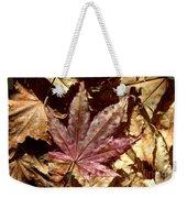 Japanese Maple Tree Leaves Weekender Tote Bag