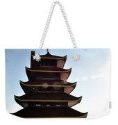 Japanese Pagoda Reading Pa Weekender Tote Bag