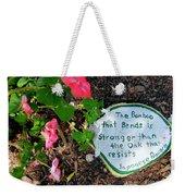 Japanese Proverb Weekender Tote Bag