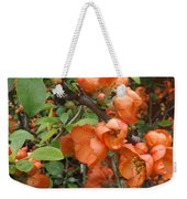 Japanese Quiche Blossoms Weekender Tote Bag