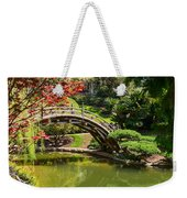Japanese Spring - The Japanese Garden Of The Huntington Library. Weekender Tote Bag