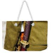 Japanese Sword Ww II Weekender Tote Bag by Thomas Woolworth