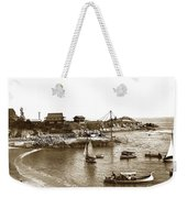 Japanese Tea Garden Glass Bottom Boats At Lovers Point Pacific Grove California Circa 1907 Weekender Tote Bag