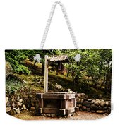 Japanese Tea Garden Well Weekender Tote Bag