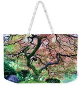 Japanese Tree In Garden Weekender Tote Bag