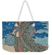 Japanese Woman By The Sea Weekender Tote Bag