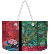 Japanesse Flower Arrangment Weekender Tote Bag