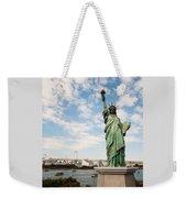 Japan's Statue Of Liberty Weekender Tote Bag