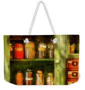 Jars - Ingredients II Weekender Tote Bag by Mike Savad