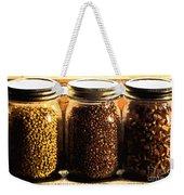 Jars On Sill Weekender Tote Bag