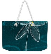 Jasmine Flower Weekender Tote Bag by Linda Woods