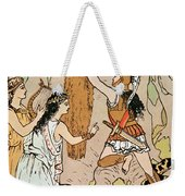 Jason Seizing The Golden Fleece Weekender Tote Bag