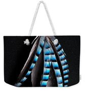 Jay Feather 2 Without Text Weekender Tote Bag