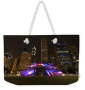Jay Pritzker Pavilion Chicago Weekender Tote Bag