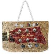 Jay Turser Guitar Head - Red Guitar - Digital Painting Weekender Tote Bag