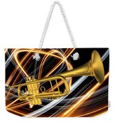 Jazz Art Trumpet Weekender Tote Bag