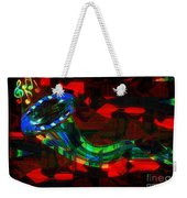 Jazz At Midnight Weekender Tote Bag