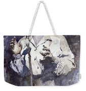Jazz Billie Holiday Lady Sings The Blues Weekender Tote Bag