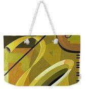 Jazz Weekender Tote Bag by Carolyn Hubbard-Ford