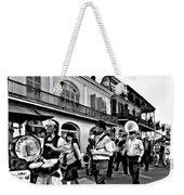 Jazz Funeral Bw Weekender Tote Bag