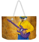 Jazz Guitar Man Weekender Tote Bag