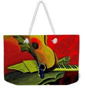 Jazz Infusion Weekender Tote Bag