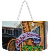 Jazz Kitchen Signage Downtown Disneyland Weekender Tote Bag