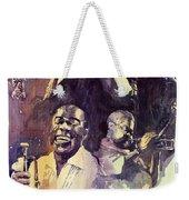 Jazz Legends Parker Gillespie Armstrong  Weekender Tote Bag