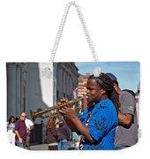 Jazz Man Weekender Tote Bag