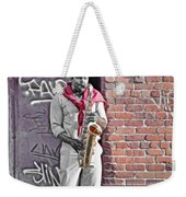 Jazz Man - Street Performer Weekender Tote Bag