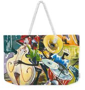 Jazz No. 4 Weekender Tote Bag