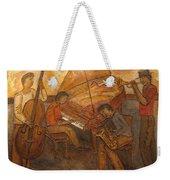 Jazz Quartet Weekender Tote Bag by Anita Burgermeister