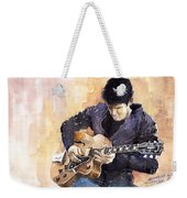Jazz Rock John Mayer 02 Weekender Tote Bag