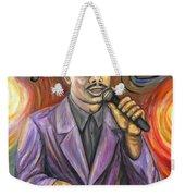 Jazz Singer Weekender Tote Bag