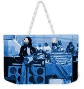 Jb #33 Enhanced In Blue Weekender Tote Bag