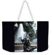 J.c.nichols Fountain 1 Kc.mo Weekender Tote Bag