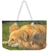 Jealous Jessie Weekender Tote Bag by Emily Hunt and William Holman Hunt