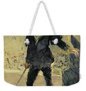 Jean Baptiste Faure In The Opera Hamlet By Ambroise Thomas Weekender Tote Bag