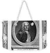 Jean Louis Petit (1674-1750) Weekender Tote Bag