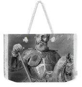 Jean Parisot De La Valette (1494-1568) Weekender Tote Bag