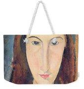Jeanne Hebuterne Weekender Tote Bag