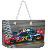 Jeff Gordon Dupont Chevrolet Weekender Tote Bag