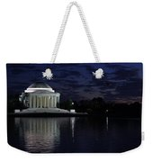 Jefferson At Dusk0253 Weekender Tote Bag